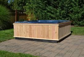 diy hot tub wrap