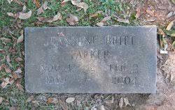 Jeannine Berniece Britt Parker (1929-2004) - Find A Grave Memorial