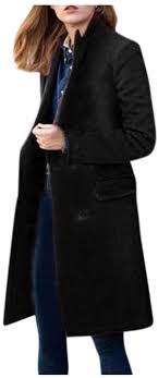 POTO <b>Women Coats</b> Ladies Double Breasted Pea <b>Coat Elegant</b> ...