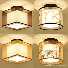 chinese style lighting. 2018 New Chinese Style Ceiling Light Balcony Corridor Entrance Square Round Modern Minimalist Hotel Lights From Maguowei, $70.06 | Dhgate.Com Lighting I