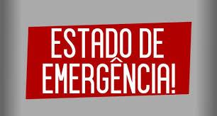 Resultado de imagem para estado de emergência prefeitura