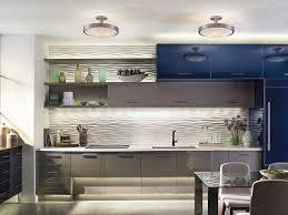 kichler light layering modern kitchen daytime