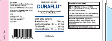 Duraflu Generic Acetaminophen Prescriptiongiant