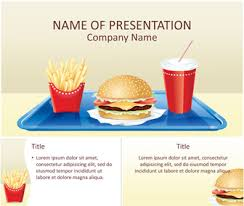 Free Food Powerpoint Templates Fast Food Powerpoint Template Templateswise Com