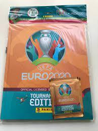 Panini UEFA EM 2020 Tournament Edition Stickerkollektion (2021)