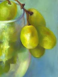 chardonnay cer oil painting 7x5