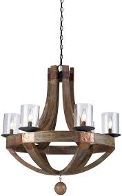 artcraft ja486 hockley copper chandelier lighting loading zoom