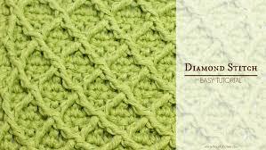 Crochet Diamond Pattern