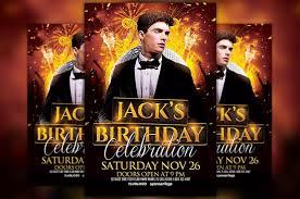 celebration flyer template. Birthday Celebration Flyer Template Awesomeflyer