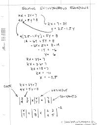 interesting solving simultaneous equations calculator jennarocca solve worksheet hsimultaniouseqmanualcalcs full size