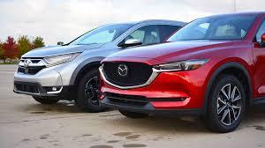 Mazda Cx 5 Trim Comparison Chart Honda Cr V Vs Mazda Cx 5 The Head And The Heart Of Suvs