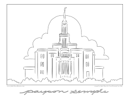 Small Picture Portland Temple Coloring Page Coloring Coloring Coloring Pages