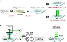 Schematic Diagram Of The Thermal Annealing Process And Laser
