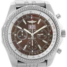 breitling for bentley adult wristwatches breitling bentley motors chronograph bronze dial mens watch a44362