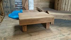 square oak sleeper coffee table are stockeduk timber chunky inside latest oak sleeper coffee tables