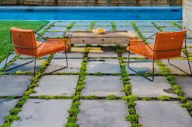 soften your patio with plants between