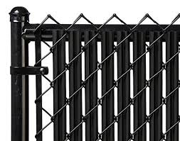 Plain Chain Link Fence Slats Black Ridged Slatstm For With Inspiration Decorating