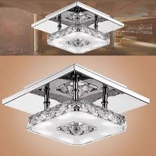 modern crystal led ceiling pendant chandelier lamp fixture light stainless steel