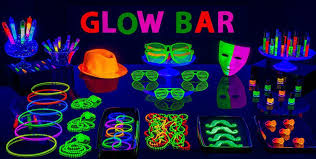 Rave Theme Party Black Light Party Supplies Glow In The Dark Party Ideas Party