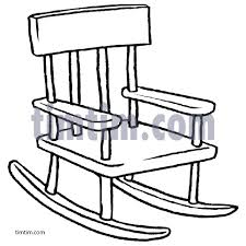 rocking chair drawing. Brilliant Drawing 483x483 Free Drawing Of Rocking Chair BW From The Category Building Home In Drawing