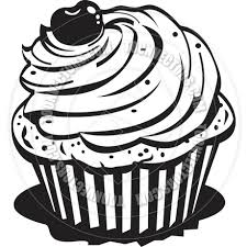cupcake drawing black and white. Simple White Cupcake20clip20art20black20and20white Intended Cupcake Drawing Black And White G