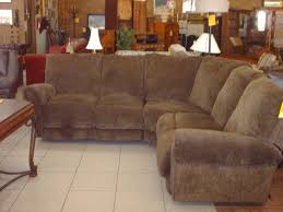 Lane Living Room Furniture 3 Piece Sectional Sofa With Recliner Hotornotlive