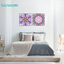 <b>5D DIY Full</b> Drill Diamond Painting Gorgeous Flowers Cross Stitch ...
