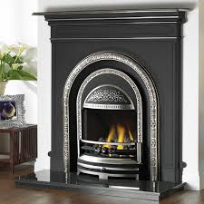 cast tec integra combination cast iron fireplace
