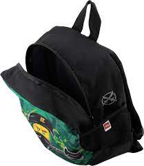 LEGO Bags Kindergarten Rucksack NINJAGO Energy, Leichter Kinderrucksack,  Vorschulrucksack mit LEGO Motiv, Kita Rucksack grün, mit großem Hauptfach,  Mesh Seitentasche, Brustgurt und Namensschild: Amazon.de: Koffer, Rucksäcke  & Taschen