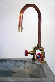 Sinks Faucets Bronze Finish Stainless Steel Industrial Style