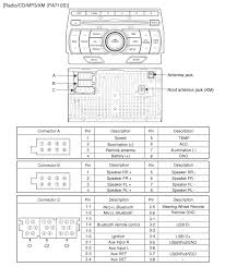 hyundai car radio stereo audio wiring diagram autoradio connector hyundai pa710s