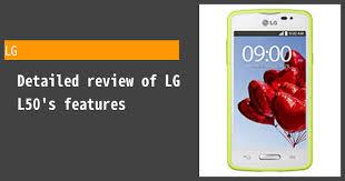 LG L50 Review