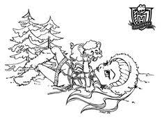 Small Picture Coloring pages Monster High Pinterest Monster high Monsters