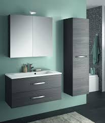 Allibert Bathroom Cabinets Allibert Badmbel Set Badmbel Vormontiert Eiche Grau Spiegel