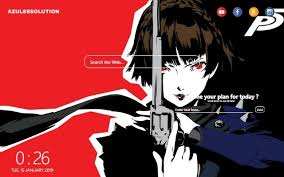 How to add an animated wallpaper for your android mobile phone. Persona 5 Wallpaper New Tab Theme
