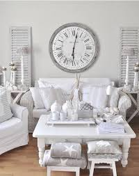 chic living room. Chic Whitewashed Shabby Living Room
