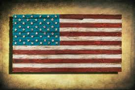 patriotic wall decor patriotic wall decor rustic flag weathered wood one of a kind d wooden