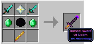 minecraft crafting. Minecraft- CursedSwordOfDoom · CursedSwordOfDoomCraft Minecraft Crafting ]