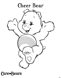 Small Picture Care bears coloring pages birthday bear ColoringStar