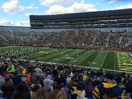 Michigan Stadium Club Level Seating Chart Michigan Stadium Section 20 Rateyourseats Com