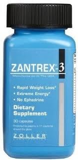 photo of zantrex 3 tary supplement 30 capsules