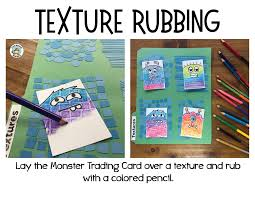 how to make your own trading cards monster artist trading cards with textures expressive monkey
