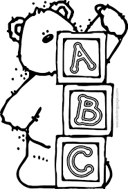 Small Picture Abc Coloring Pages In Color Theotix Me zimeonme