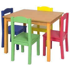 wooden toddler table and chairs kids wooden table 4 chair set primary wooden childrens table and