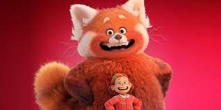 Girl Who Turns Into a Giant Red Panda