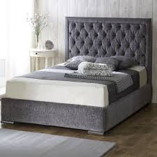 Bethel Fabric Upholstered Bed Frame - Luxury Fabric Beds - Beds.co ...