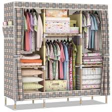 get quotations assembly disassembly simple wardrobe cloth wardrobe wood wardrobe closet queen cloth hanging clothes storage cabinets cabinet