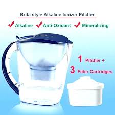 alkaline water at filtered water pitcher household water filter dispenser pitcher style mineral alkaline water alkaline water
