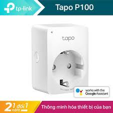 Giá bán Ổ cắm điện Wifi thông minh TP-Link Tapo P100 - Nhỏ gọn, tiện dụng -  Full Box - Hàng chính hãng phân phối