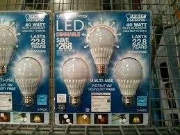 costco us costco 3 pack dimmable 7 5w led bulb 8 after 12 instant rebate